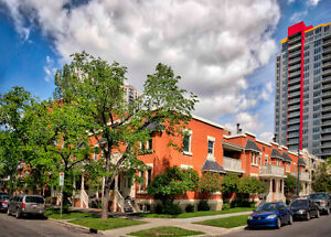 Townhouse, 3 Bdrm 1700 SF, Heritage Building, Calgary Beltline