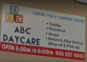 Registrar Now!! For September ...... ABC Daycare Centre