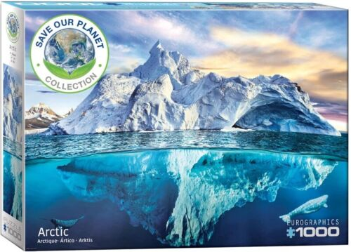 Eurographics 1000 Piece Jigsaw Puzzle - Save Our Planet Collection: Arctic