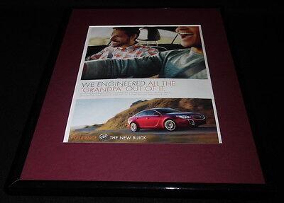 2015 Buick Regal Framed 11x14 ORIGINAL Advertisement