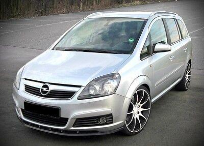 schwarze cup Spoilerlippe Frontspoiler Spoiler Diffusor für Opel Zafira B ABS gebraucht kaufen  Hagen