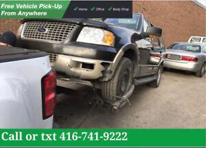 WE PAY HIGHEST CASH FOR SCRAP CAR - OLD CAR $150-$3500✅