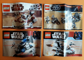 Lego Star Wars Bundle Job Lot 8089 7749 8083 8084 100% Complete
