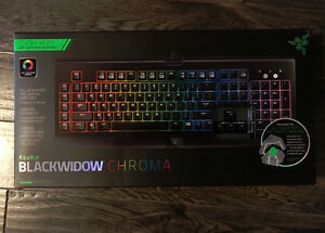 selling razer blackwidow chroma