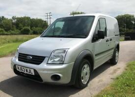 2013 Ford Transit Connect 1.8TDCi 90 PS T220 SWB Silver Van *95,800 Miles*