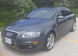 2008 Audi A6 Quattro with S Line Trim