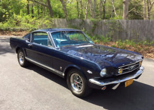 1965 to 1966 Mustang gt fastback 4 speed