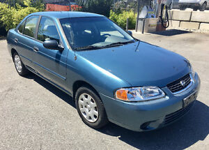 2001 Nissan Sentra XE Sedan - LOW KMs & NO ACCIDENTS!!