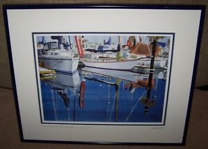 """SUMMER IN SYDNEY,B.C."" PRINT  by GREG SNEAD SIGNED."
