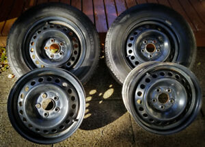 Goodyear Winter Tires & Steel Rims