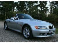 BMW Z3 1.9 2DR 140bhp MANUAL ROADSTER WARRANTIED LOW MILEAGE FSH