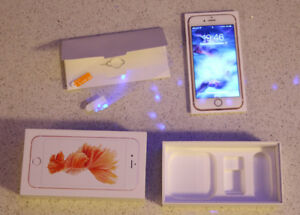 Apple iPhone 6s 16GB unlocked Rose Gold mint condition