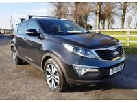 2013 13 Kia Sportage 2.0CRDi KX-3 4WD with Sat Nav and Full Leather Interior