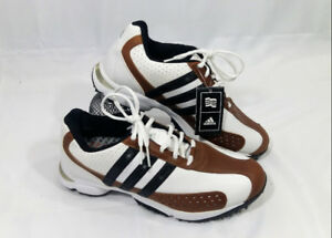 FitRx 816144 Adidas Golf Shoes NWT Size 7.5 Brown Golf Spikes