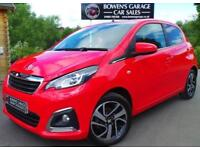 2014 64 PEUGEOT 108 1.2 ALLURE 5DR - LOW MILES - £0 ROAD TAX - 3 SERVICE STAMPS