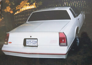 1988 Monte Carlo SS T-TOPS