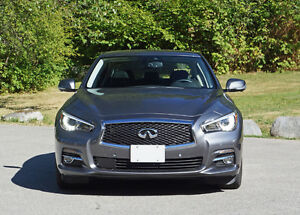 2015 Infiniti Q50 AWD Limited fully loaded + prepaid maintenance