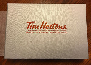 2016-17 Tim Hortons Collector's Series Master Set Prize Book