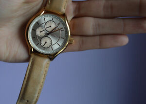 Fossil watch, rose gold