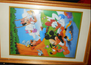 Beautiful 3D Disney babies - wall picture - for nursery