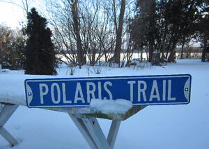 Polaris Trail Sign Kawartha Lakes Peterborough Area image 1