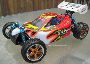 New RC Brushless Electric RC Buggy / Car LIPO 4WD 2.4G