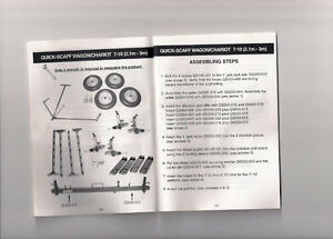 Scaffolding Wheel Kit