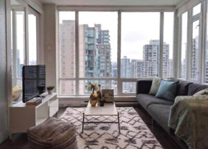 Gorgeous 1 BED + DEN + INDOOR BALCONY at DOWNTOWN VANCOUVER