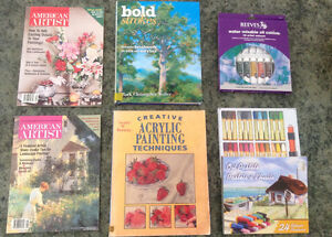 Beginner Painting Books, Oils and Pastels