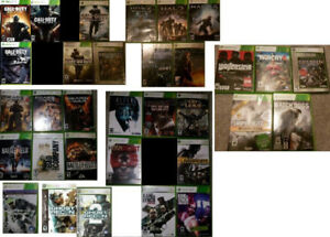 XBOX 360 Shooter games (Various Prices)
