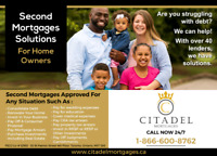 SECOND MORTGAGES SOLUTIONS FOR HOMEOWNERS