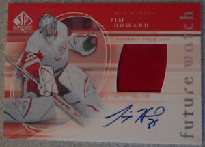 Jim Howard , 2005-06 : SP Authentic Limited
