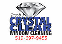 Jacob's Crystal Clear Window Cleaning (519-697-9455)
