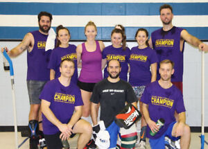 Winter Co-ed Adult Floor Hockey Leagues!