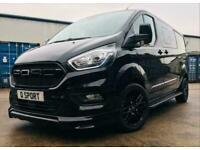 Ford Transit Custom 320 185ps Auto Ltd L2 Lwb DCIV Double Cab Van Crew Q Sport