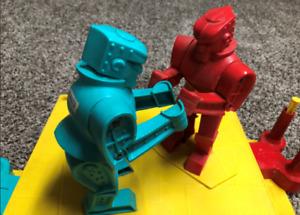 Vintage Marx Rock 'Em Sock 'Em Robots