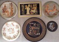 Assiettes décoratives cuivre