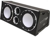 Vibe Space 6000 Watts Subwoofers & Bass Box (Alpine JBL Kicker JL Hifonics Sony Infinity Rockford )