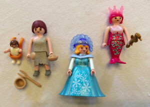 Individual Playmobil figures ($5 for all 3)