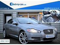 2009 59 Jaguar XF 3.0TD V6 Auto S Premium Luxury Grey with Black Leather FDSH