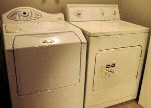 Maytag Neptune Washer and Kenmore Dryer