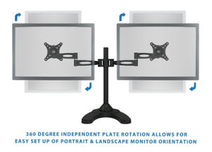 Used Dual LCD Monitor Mount Stand (Mount-It)