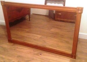 "Solid Wood Framed Mirror 33"" x 53"""