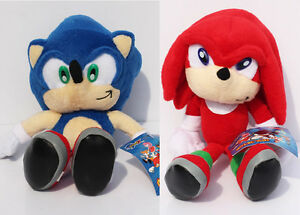 Sonic And Knuckles Plush Set [23cm] *Brand New*