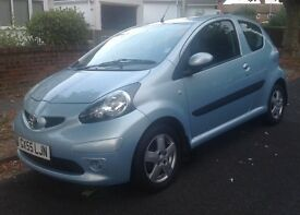 2005/55 TOYOTA AYGO 1.0 3 DR 44000 MLS FSH 9 Services