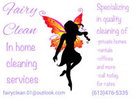 Fairy Clean in home cleaning