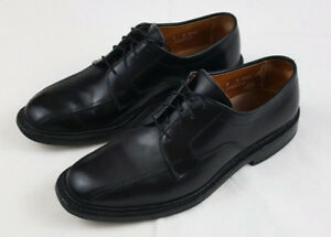 ALLEN EDMONDS Hilcrest Mens Black Leather Shoes Size 8 D