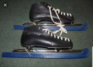 WANTED TUBULAR / SPEED SKATES  / LONG BLADES