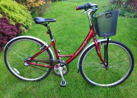 Ladies Raleigh city bicycle