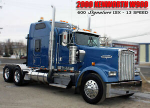 2000 KENWORTH W900  ***SIGNATURE 600 ISX***
